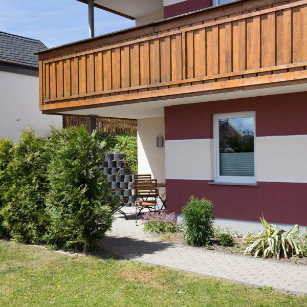 Ferienwohnungen Willingen-Haus-Terasse1