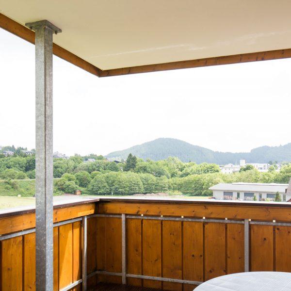 Ferienwohnungen Willingen-Wohnung2-Blick-Balkon1
