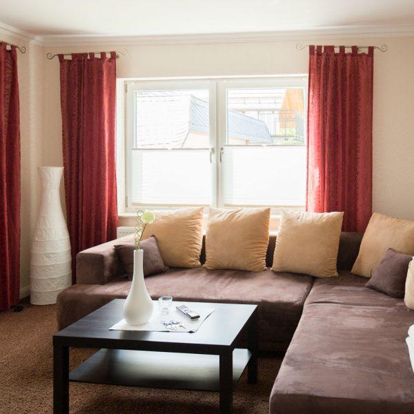 Ferienwohnungen Willingen-Wohnung3-Wohnzimmer